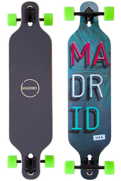 "Madrid Trance DT 39"" (99cm) Complete-Longboard (miami)"