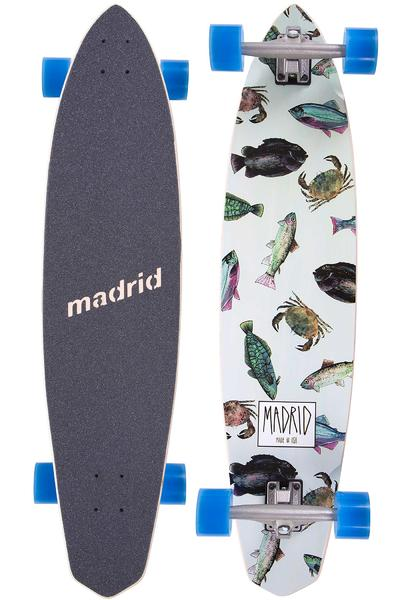 "Madrid Dude 38.75"" (98,4cm) Komplett-Longboard (fish)"