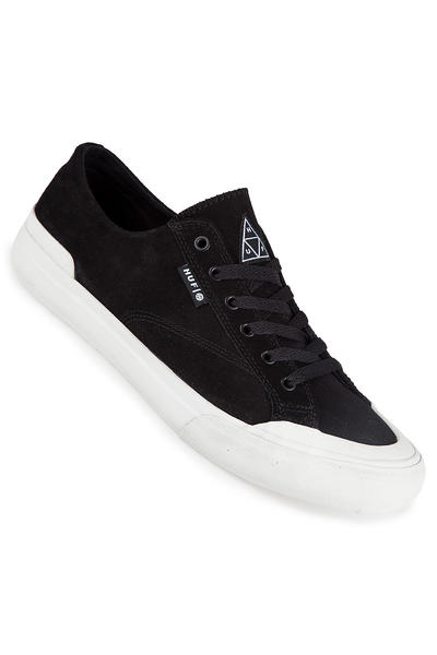 HUF Classic Lo Leather Schuh (black bone)