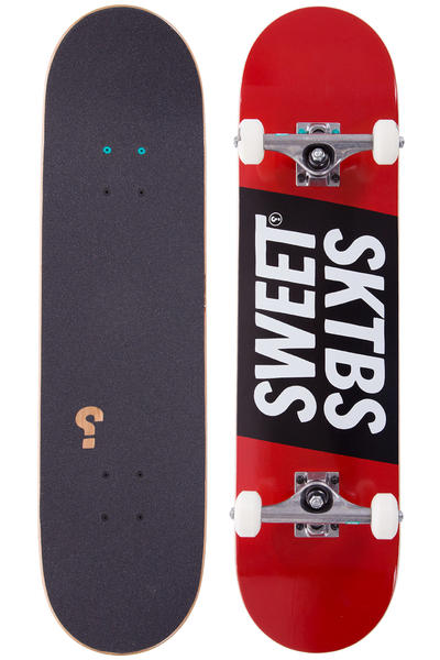 "SWEET SKTBS Official 7.75"" Komplettboard (red black)"
