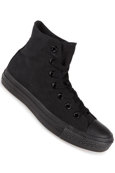 Converse Chuck Taylor High All Star Canvas Chaussure (black monochrome)