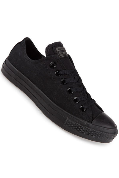 Converse Chuck Taylor All Star Canvas Schuh (black monochrome)