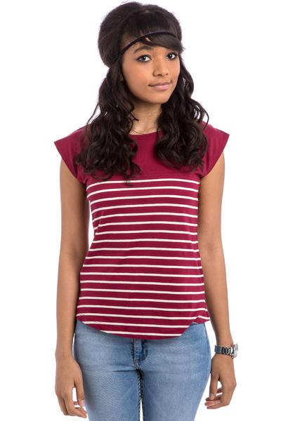 Forvert Newport T-Shirt women (red beige)