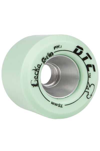DTC Wheels Gecko GRIP 75mm Rollen (mint green) 4er Pack