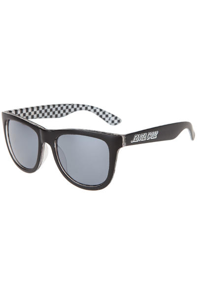 Santa Cruz Checker Insider Sunglasses (black white)