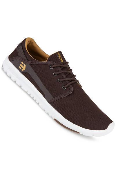 Etnies Scout Schuh (brown white gum)