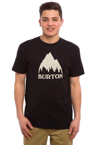 Burton Classic Mountain T-Shirt (true black)