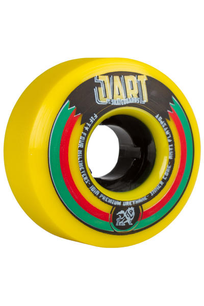 Jart Skateboards Kingston 54mm Rollen (yellow) 4er Pack