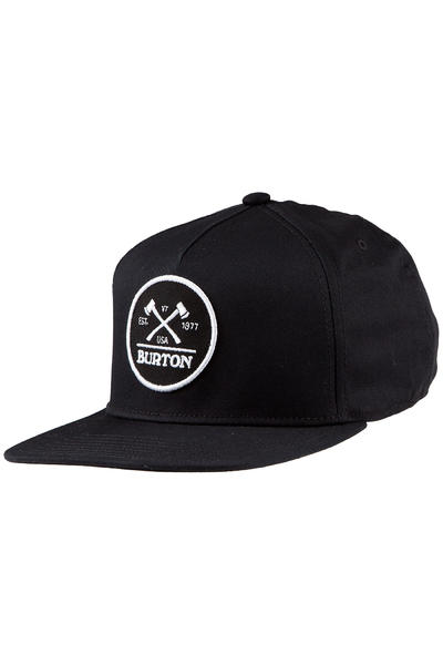 Burton Woodsman Snapback Cap (true black)