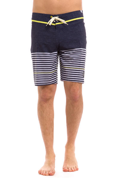 Quiksilver East Side Stripe Boardshorts (navy blazer)