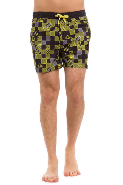 Quiksilver Checkered Boardshorts (sulphur spring)
