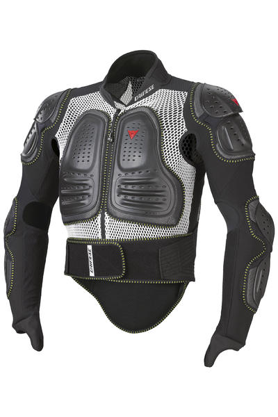 Dainese Ultimate Evo Jacket Protector (white black)
