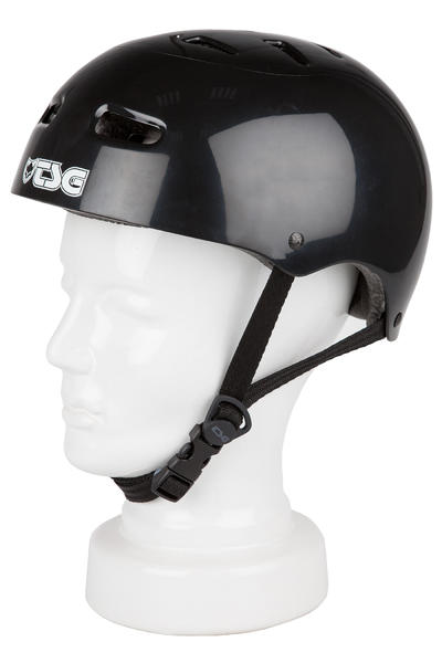 TSG Skate/BMX-Injected-Colors Casco (black)