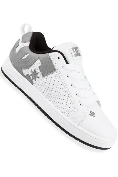 DC Court Graffik Shoe (white white carbon)