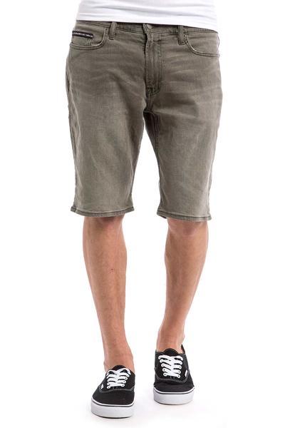 DC Worker Straight Denim Shorts (grey stone)