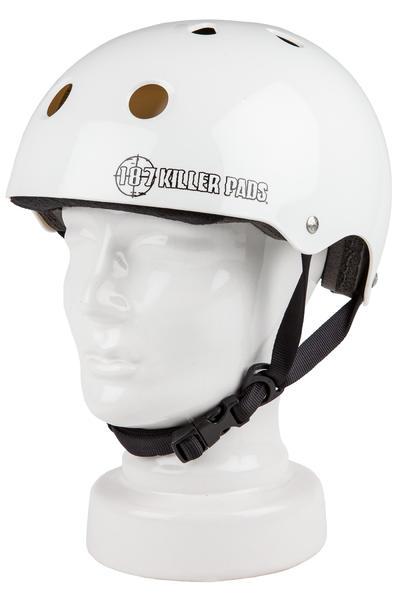 187 Killer Pads Pro Skate Helm (gloss white)