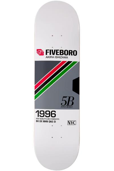 """5BORO Ishizawa VHS Pro Series 8.25"""" Planche Skate (white)"""