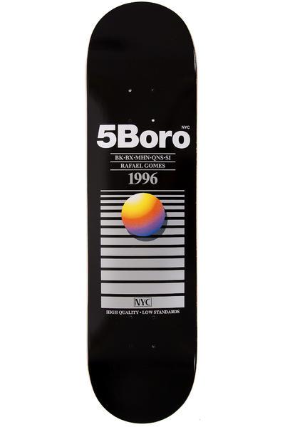 "5BORO Gomes VHS Pro Series 8"" Planche Skate (black)"