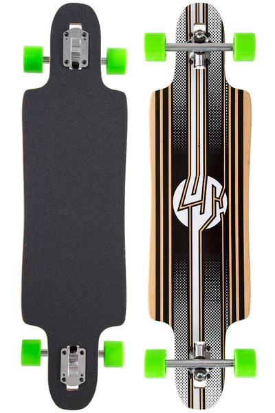 """Lush Freebyrd 37.5"""" (95,25cm) Complete-Longboard (stripes)"""