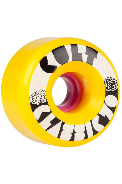 Cult Classics 70mm 80A Rollen (yellow) 4er Pack
