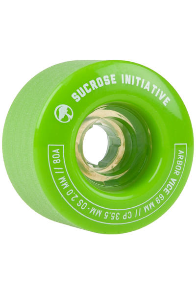 Arbor Vice 69mm 80A Rollen (green) 4er Pack