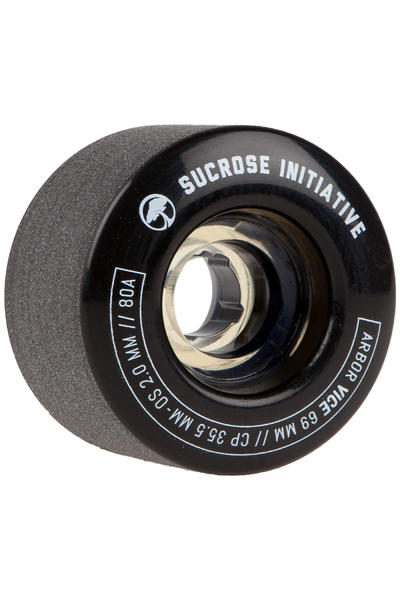 Arbor Vice 69mm 80A Rollen (black) 4er Pack
