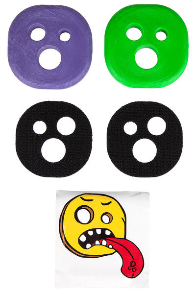 Holesom Fruit Slide Pucks (neon lime green purple)