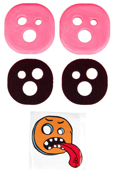 Holesom Bubblegum Slide Pucks (soft neon pink)