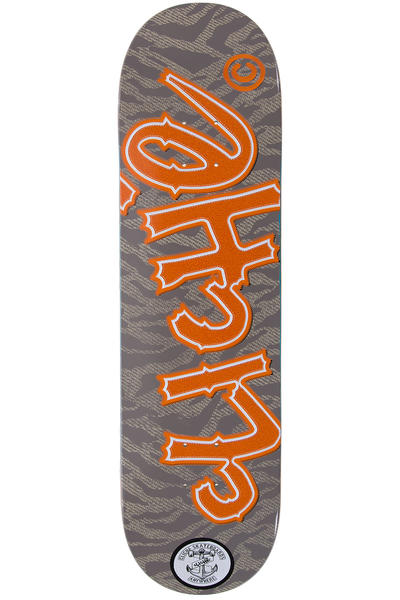 "Cliché Team Handwritten Camo Patch 8.38"" Planche Skate"
