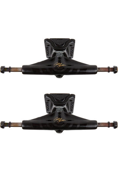 "Tensor Mullen Über Gold Ops Slider Magnesium Light 5.25"" Low Achse (black) 2er Pack"