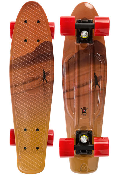 SK8DLX x Surfblend Cruiser (orange yellow)