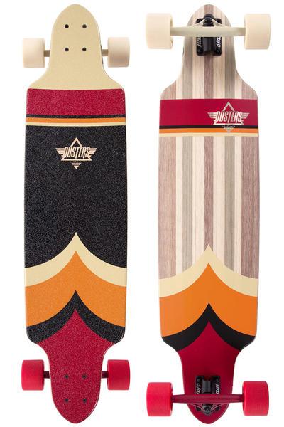 """Dusters Totem 38,5"""" (97,8cm) Komplett-Longboard (red orange)"""