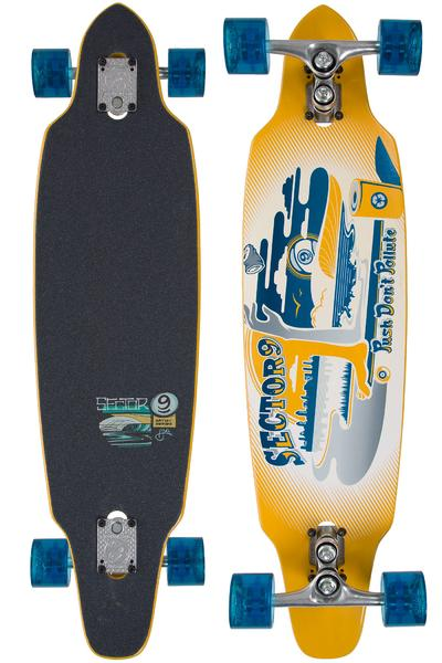 "Sector 9 Tempest 36"" (91,44cm) Complete-Longboard (yellow)"