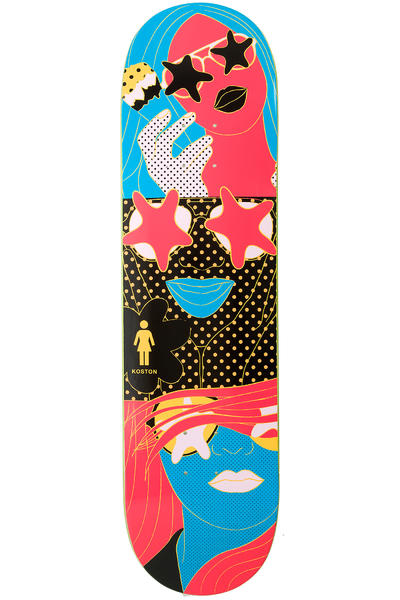"Girl Koston Starstruck 8.25"" Deck (multi)"