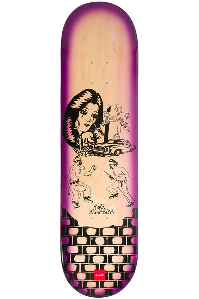 "Chocolate Johnson Lupitas 8.125"" Deck"