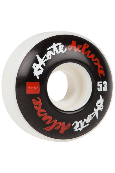 Chocolate x skatedeluxe Chunk 53mm Rollen (white black) 4er Pack