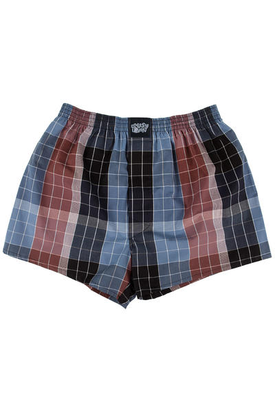 Lousy Livin Underwear Check Boxershorts (brown)