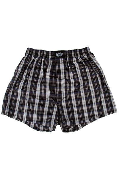 Lousy Livin Underwear Check Boxershorts (black)