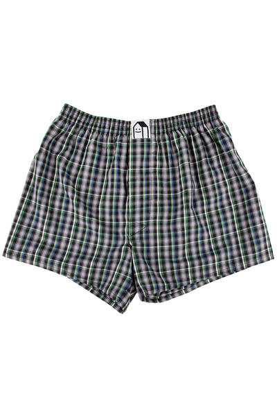 Lousy Livin Underwear Check Boxers (black forest)