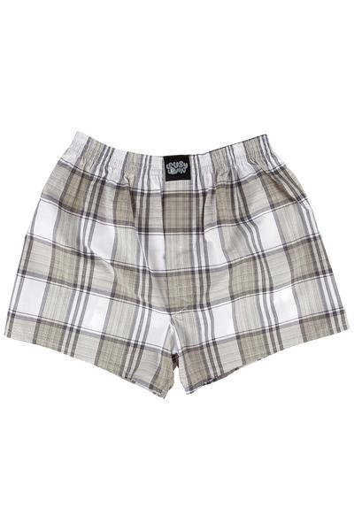 Lousy Livin Underwear Check Boxershorts (khaki)