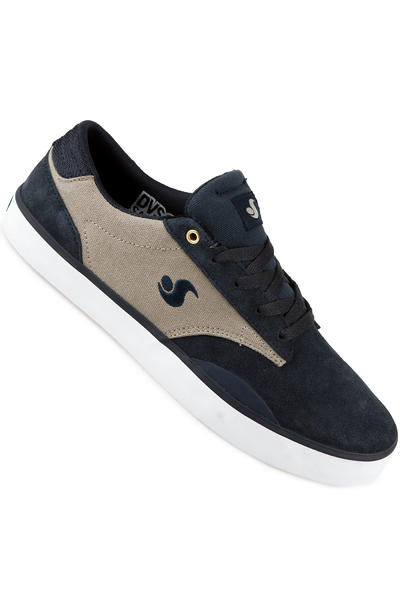 DVS Daewon 14 Suede Canvas Shoe (navy)