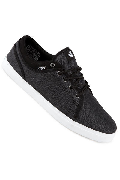 DVS Aversa Textile Shoe (black herringbone)