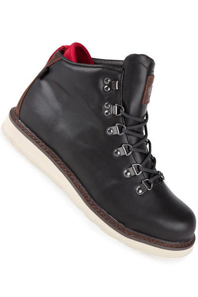 DVS Yodeler Leather Shoe (black brown leather)