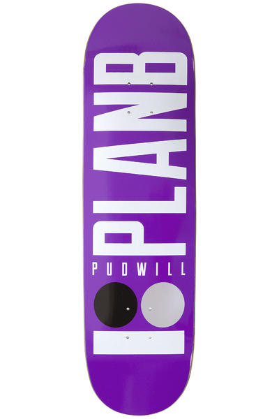"Plan B Pudwill Basics 8.375"" Deck (purple)"