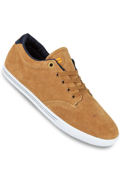 Globe Lighthouse Slim Suede Shoe (light brown)