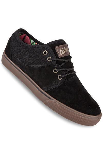 Globe Mahalo Suede Schuh (black tobacco gum)