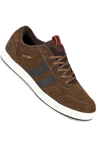 Globe Encore Zone Suede Shoe (brown off white)
