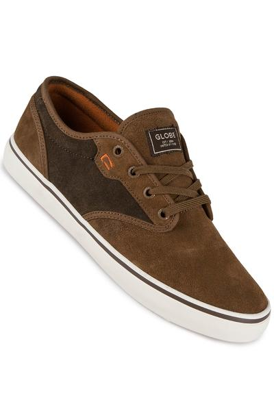 Globe Motley Suede Shoe (brown choco)