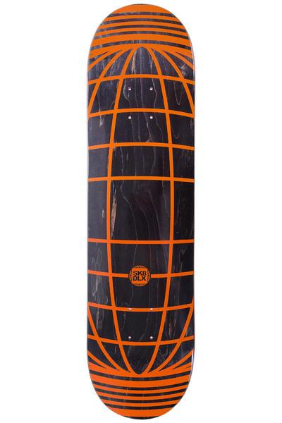 """SK8DLX Global Series 8.125"""" Deck (black orange)"""