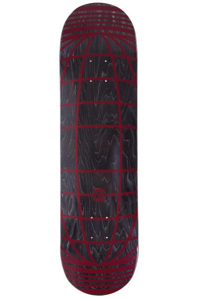 """SK8DLX Global Series 8.375"""" Deck (black dark red)"""
